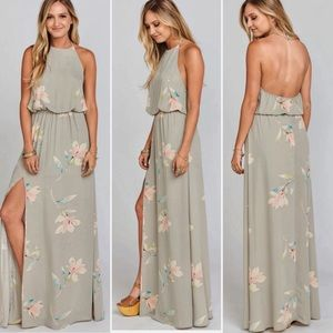 Show Me Your Mumu Heather Halter Lily Showers